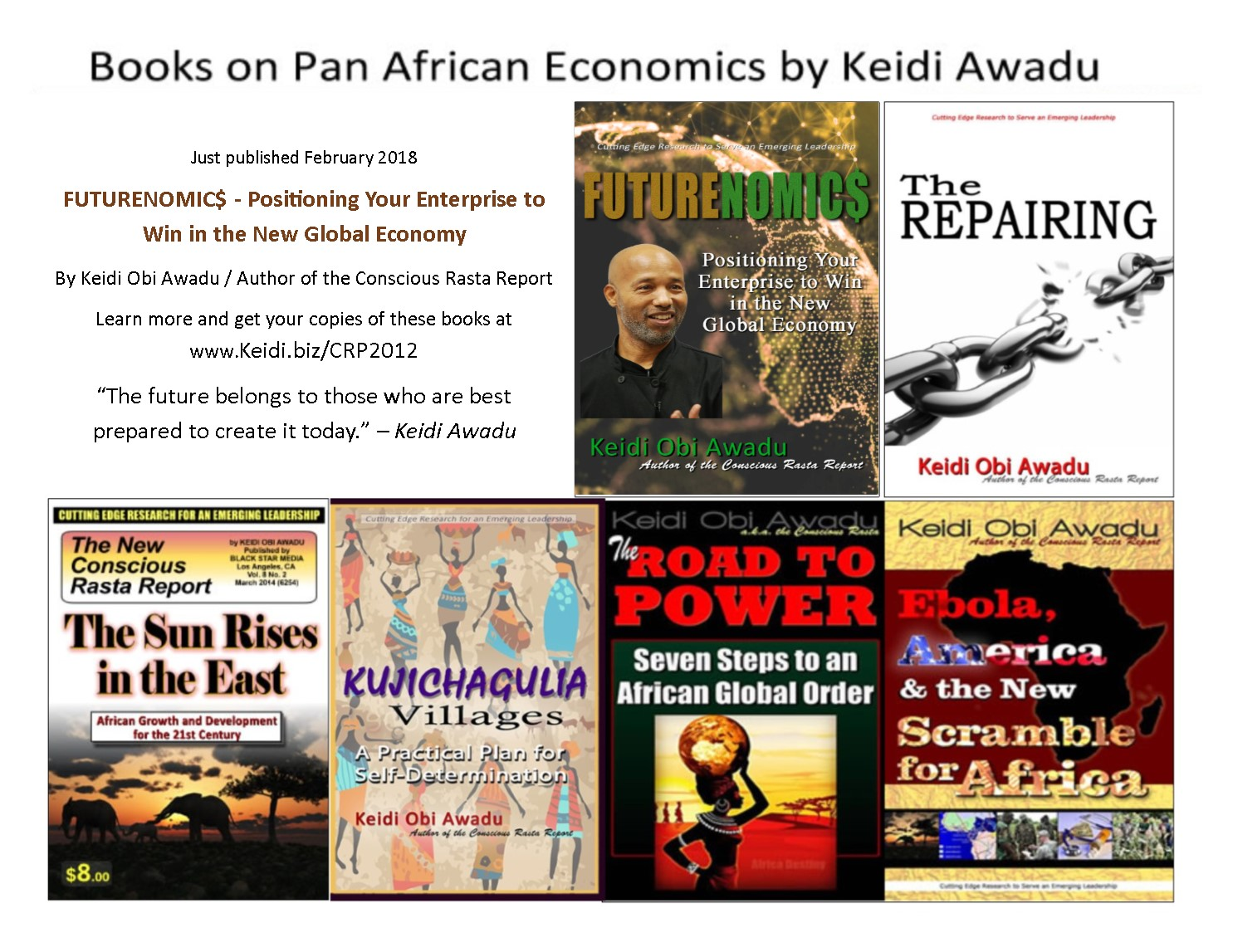 Pan African Books by Keidi